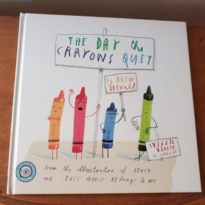The Day the Crayons Quit Book Drew Daywalt